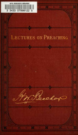 Yale lectures on preaching_cover