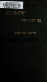 Extempore preaching_cover