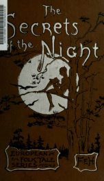 The secrets of the night, and other Esthonian tales_cover
