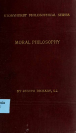 Moral philosophy: Ethics deontology and natural law_cover