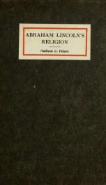 Abraham Lincoln's religion_cover