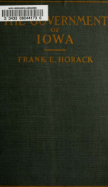 The government of Iowa_cover