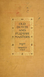 Old Dutch and Flemish masters_cover