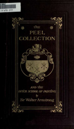 The Peel collection and the Dutch school of painting_cover