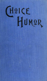 Choice humor for reading and recitation_cover