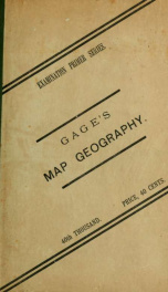 A primer of map geography : with recent departmental examination papers from the provinces of Ontario, Manitoba, and Nova Scotia_cover