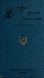 Select poems of Coleridge and Wordsworth_cover