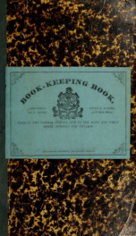 Book-keeping book : comprising journal, ledger, day book and bill book_cover