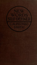 New words self-defined_cover