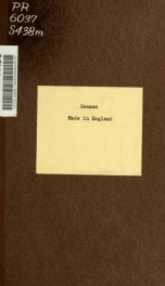 Made in England, verses_cover