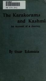 The Karakorans and Kashmir; an account of a journey_cover