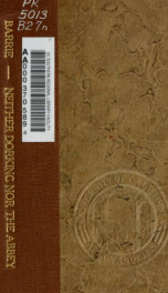 Neither Dorking nor the Abbey_cover