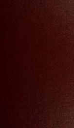 Stuttgarter Beiträge zur Naturkunde no. 90-109 (1983-84)_cover