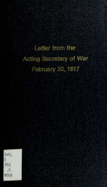 Letter from the acting Secretary of War, transmitting information relative to the claims of the State of Massachusetts for payment of the expenses of the militia ordered out by the executive authority of the state, during the late war. --_cover