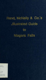 Rand, McNally & Co.'s illustrated guide to Niagara Falls. --_cover
