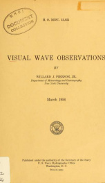 Visual wave observations_cover