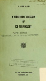 A functional glossary of ice terminology_cover