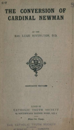 The conversion of Cardinal Newman_cover