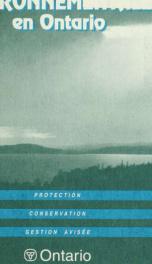 Petit Guide Des Evaluations Environnementales En Ontario (Replace 694b, 695b_cover