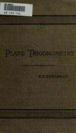 Plane trigonometry_cover