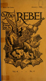 The Rebel, January 1920 4, No. 4_cover