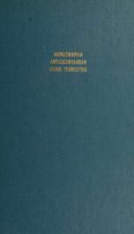 Monographia Anthocoridarum orbis terrestris .._cover