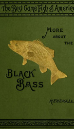 More about the black bass;_cover