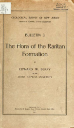 The flora of the Raritan formation_cover