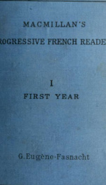 Macmillan's progressive French reader, with a series of imitative exercises 1_cover