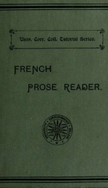 A French prose reader_cover
