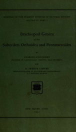 Brachiopod genera of the suborders Orthoidea and Pentameroidea 4. pt.1_cover