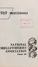Proceedings of the National Shellfisheries Association 60_cover