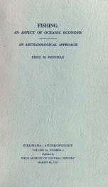 Fishing: an aspect of oceanic economy: an archaeological approach Volume 56, Number 2_cover
