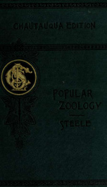 A popular zoology 1887_cover