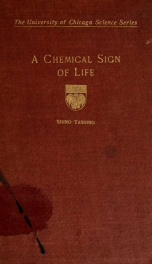 A chemical sign of life_cover
