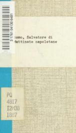 Mattinate napoletane_cover