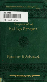 Ballad stories of the affections. From the Scandinavian_cover