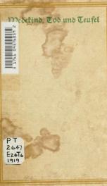 Tod und Teufel. Totentanz, drei Szenen, 1905_cover
