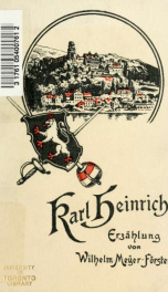 Karl Heinrich, Erzählung_cover