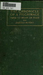 The chronicle of a pilgrimage; Paris to Milan on foot_cover