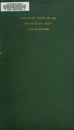 Corlears Hook in 1820, The Wagnerian cult, and Our manners_cover