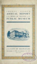 Annual report 28_cover