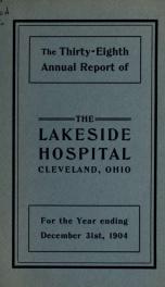 Annual report 38_cover
