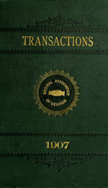 Transactions 1907_cover