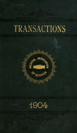 Transactions 1904_cover