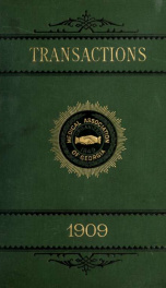 Transactions 1909_cover