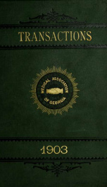Transactions 1903_cover