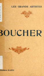 Boucher : biographie critique_cover