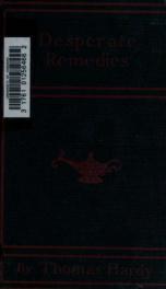 Desperate remedies; a novel_cover