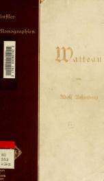 Antoine Watteau. [Liebhaber-Ausg.]_cover